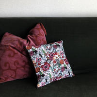 83SELECT / Nathalie Lete Cushion Cover  Cat&Flower