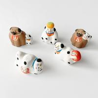 habotan /土人形 犬|5-Type
