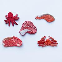 83SELECT / 刺繍ワッペン [ 赤い食べ物 ] |5-Type