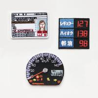 83SELECT / 刺繍ワッペン [ ガソリンスタンド ] |3-Type