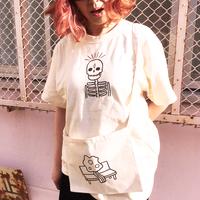 ドクロTシャツ Skull TEE /  べつやくれい