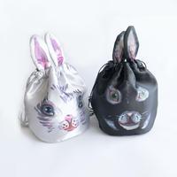 83SELECT / Nathalie Lete Drawstring 巾着 BAG  2-Color