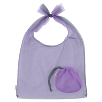 Lagimusim / Organdie BAG  [ Gray × Purple]