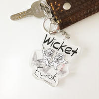 83SELECT / スターウォーズ アクリルキーホルダー Wicket W. Warrick