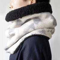 sneeuw  / ボアネックウォーマー |ブラック