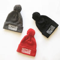 83 original / RECYCLED TEENAGER  Pompon Beanie ポンポン ビーニー|3-Color