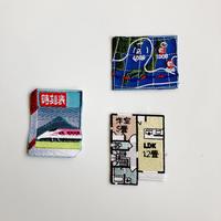83SELECT / 刺繍ワッペン [ 図と表 ] |3-Type