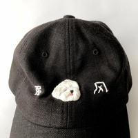 nekomotion / 刺繍CAP 強风 犬