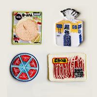 83SELECT / 刺繍ワッペン [ スーパーの食品 ] |4-Type