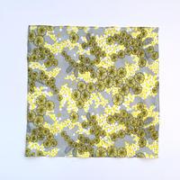 makumo / ハンカチ ミモザ 黄色