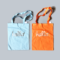83 original / hello  Cotton Tote Bag  - Apple Ver. -  4-Color