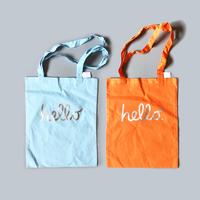 83 original / hello  Cotton Tote Bag  - Apple Ver. -  4-Color