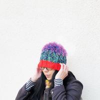 編みニット帽|mo-mo- /203gow