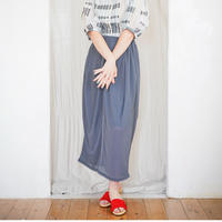 sneeuw / シアーリブコクーンスカート 3-Color