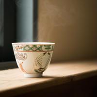 物色 / 團鶴大杯|鶴 蝙蝠茶杯