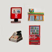 83SELECT / 刺繍ワッペン [ わたしの町 ] |4-Type