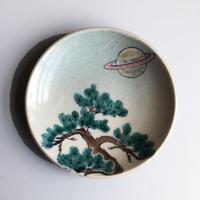 esou ceramics / 松と土星  [絵皿]