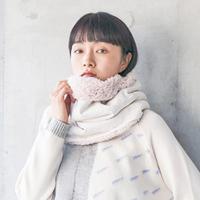 sneeuw  / Window JQ  ネックウォーマー |Ivory