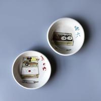 幕の内弁当・助六寿司  [絵皿]  2-Type / esou ceramics