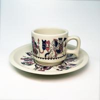 上野原ファミリーボウル  Cup & Saucer  [個物] / 永井ミキジ
