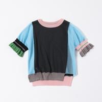 TRICOTE / Frill  T-shirt