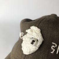 nekomotion / 刺繍CAP 淋巴引流|犬  (リンパ流し)