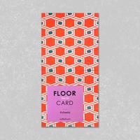 FLOOR CARD・North / Kuff Luff