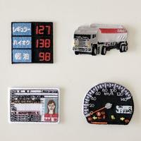 83SELECT / 刺繍ワッペン [ ガソリンスタンド ] |4-Type