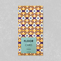 FLOOR CARD・West/ Kuff Luff