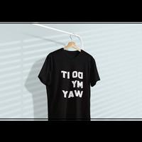 83 original /Do It My Way 鏡文字TEE|3-Color