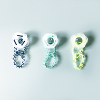 TRICOTE / Acrylic sand ピアス|3-Color