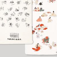 83SELECT / 手ぬぐい 湯本豪一コレクション 妖怪づくし 妖怪双六・付喪神絵巻 |2-Type