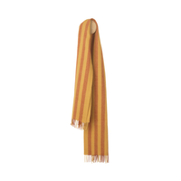 ELVANG (エルヴァン) Bergen Scarf  Rusty red / Curry