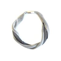 MATERIA DESIGN Gau Soft Necklace Smoke Gray / Gray