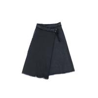 AVN デニム・ラップスカート