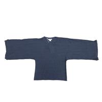 AVANT TOI(アヴァントワ) Kimono Dyed Pullover Navy