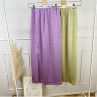 satin colorスカート (2color)