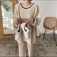 Loose Line Knit