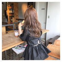 [即納] back ribbon BL (Black)