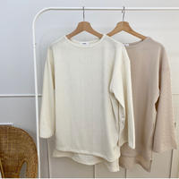 natural rib tops (2color)