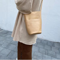 leatherバケットBag (cow leather)