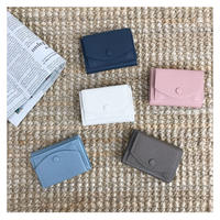 [予約]  cow leather mini wallet (6color)