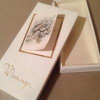 Mariage メッセージカードボックス