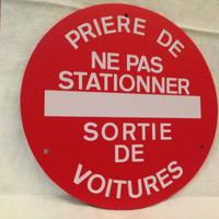 フランスサインプレート