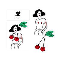 sticker - cherry good -