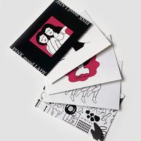 PINK mood LADY ポストカード