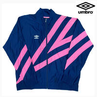UMBRO NYLON JKT NAVY/PINK