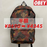 OBEY BACKPACK CHOCOCHIP