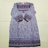 INDIAN  COTTON ONEPIECE PINK