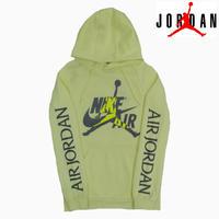 AIR JORDAN HOODIE NEONYEL